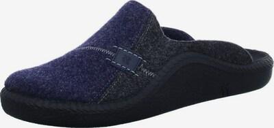 ROMIKA Huisschoen in de kleur Donkerblauw / Basaltgrijs, Productweergave