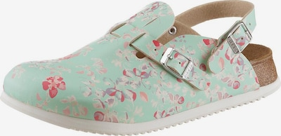 BIRKENSTOCK Clog in mint / rosa, Produktansicht