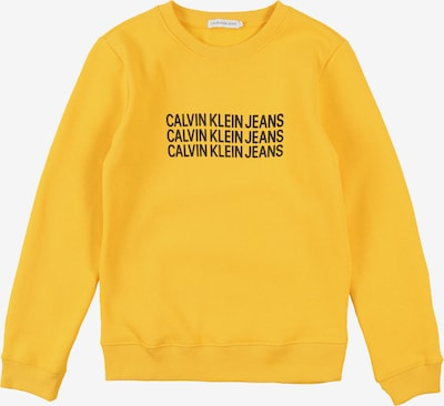 Calvin Klein Jeans Sweatshirt in limone, Produktansicht