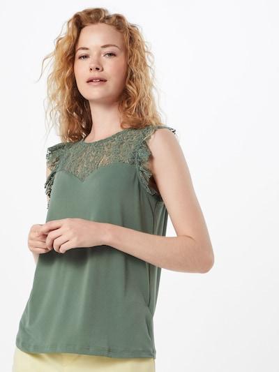 VERO MODA Bluzka w kolorze zielonym, Podgląd na modelu(-ce)