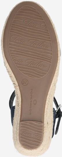 Schoenen voor Dames TOM TAILOR Sandaal in Beige / Navy