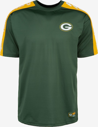NEW ERA T-Shirt 'NFL Green Bay Packers' in gelb / dunkelgrün / weiß, Produktansicht