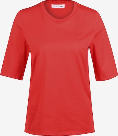 LACOSTE T-Shirt in rot, Produktansicht
