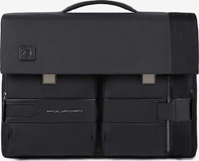 Piquadro Aktentasche  'Tokyo' 43 cm in schwarz: Frontalansicht