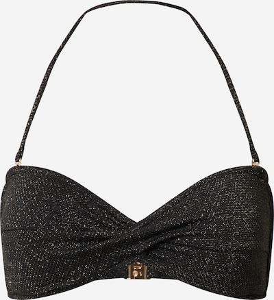 Seafolly Bikinitop 'Twist Bandeau' in de kleur Zwart, Productweergave