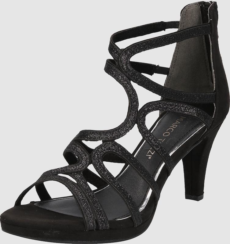 MARCO TOZZI Sandaletten mit Glitzer-Riemen