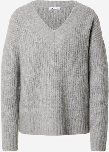 EDITED Pullover 'Claire' in grau, Produktansicht