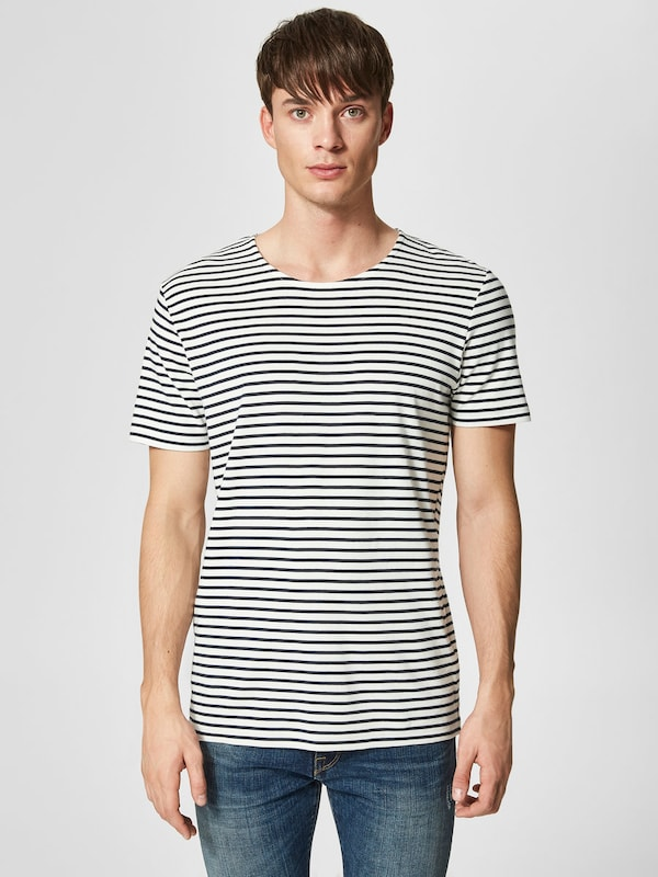 SELECTED HOMME Gestreiftes T-Shirt