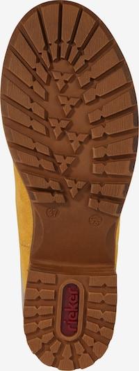 Chelsea batai '96884' iš RIEKER , spalva - ruda / garstyčių spalva: Vaizdas iš apačios