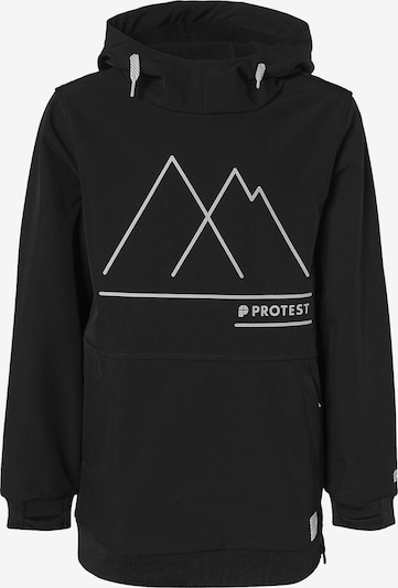PROTEST Outdoorjacke in schwarz, Produktansicht