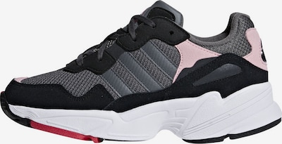 ADIDAS ORIGINALS Sneaker 'Yung 96' in basaltgrau / rosa, Produktansicht