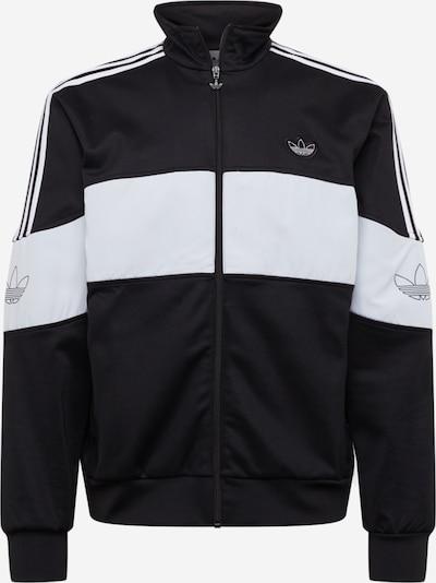 ADIDAS ORIGINALS Bluza rozpinana 'BANDRIX TT' w kolorze czarny / białym, Podgląd produktu