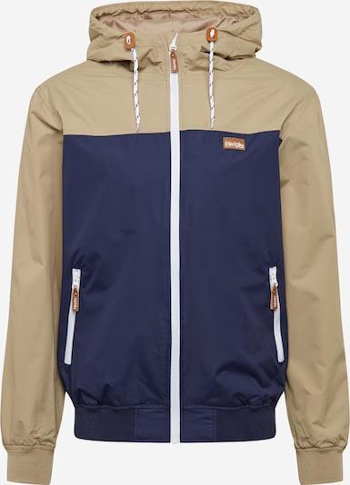 Iriedaily Övergångsjacka 'Auf Deck' i marinblå / khaki, Produktvy