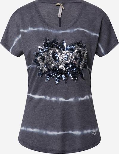 Key Largo T-Shirt 'Festival' in dunkelblau / weiß, Produktansicht