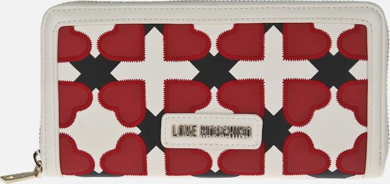 Love Moschino Geldbörse mit Herzmotiven