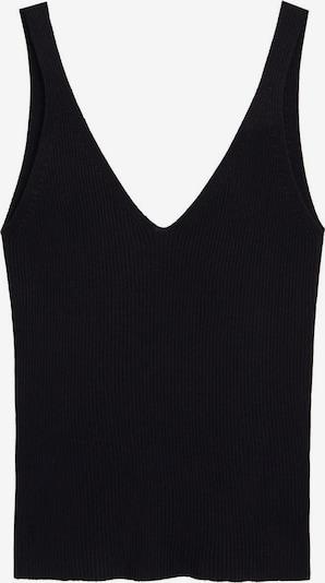 MANGO Top 'GYMNASTI' in schwarz, Produktansicht