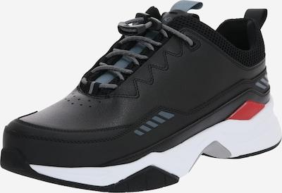 HUGO Sneaker 'Block Runn lt' in schwarz / weiß, Produktansicht