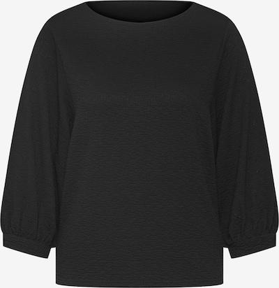 Marškinėliai 'Enja' iš EDITED , spalva - juoda: Vaizdas iš priekio