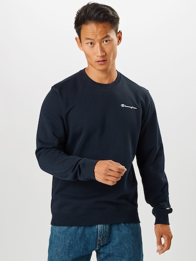 Champion Authentic Athletic Apparel Sweatshirt in navy: Frontalansicht
