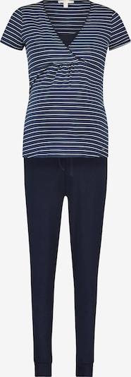 Esprit Maternity Pyjama in navy / weiß, Produktansicht