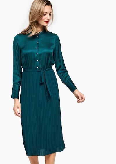 s.Oliver BLACK LABEL Kleid in smaragd: Frontalansicht