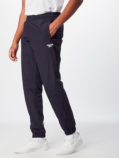 Reebok Classic Hose in schwarz / weiß, Modelansicht