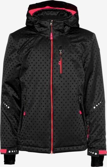 KILLTEC Skijacke 'Valjessa Jr' in pink / schwarz, Produktansicht