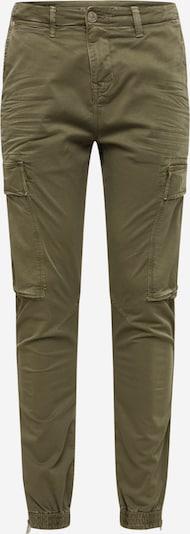 Pantaloni cu buzunare True Religion pe oliv, Vizualizare produs