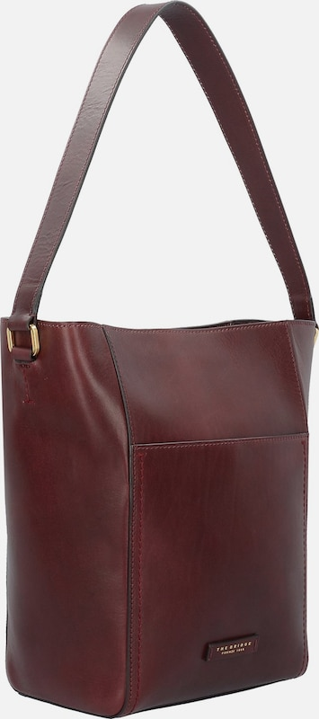The Bridge Prezzo Schultertasche Leder 23 cm