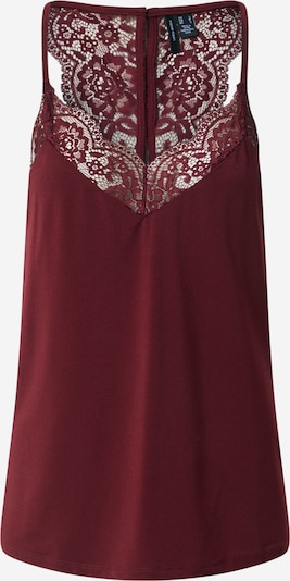 VERO MODA Top 'ANA' in bordeaux, Produktansicht