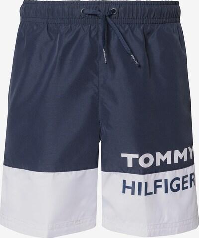 TOMMY HILFIGER Badeshorts in blau / weiß, Produktansicht