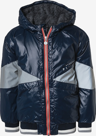Boboli Übergangsjacke in dunkelblau / grau / rot / weiß, Produktansicht