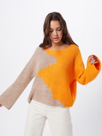 VILA Pullover 'VILOUI' in beige / apricot, Modelansicht