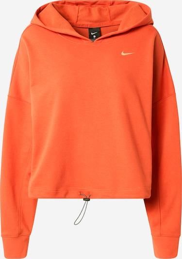 NIKE Sweat de sport 'Icon Clash' en orange, Vue avec produit