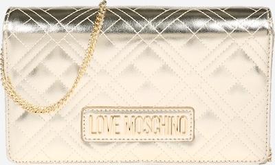 Love Moschino Tasche in kupfer / gold / platin, Produktansicht