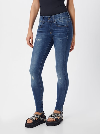 G-Star RAW Jeans 'Lynn' in blue denim, Modelansicht