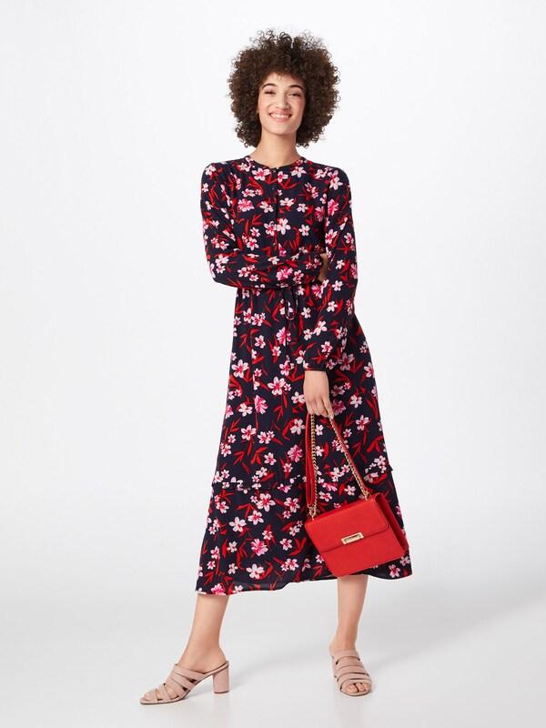 Red MarineMélange En Label Robe chemise Couleurs oliver Bleu De S c3S4jLq5AR