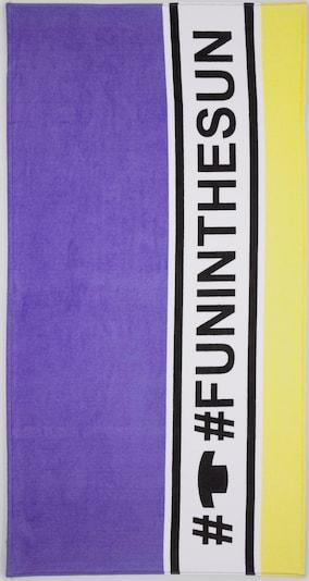 TOM TAILOR Handdoek in de kleur Lila, Productweergave