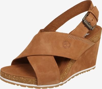 TIMBERLAND Sandale 'Capri Sunset X-Band Sandal' in cognac, Produktansicht