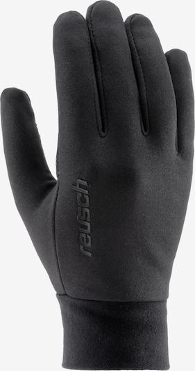 REUSCH Fingerhandschuhe 'Asthon' in schwarz, Produktansicht