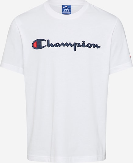Champion Authentic Athletic Apparel Shirt 'Crewneck T-Shirt' in de kleur Wit, Productweergave