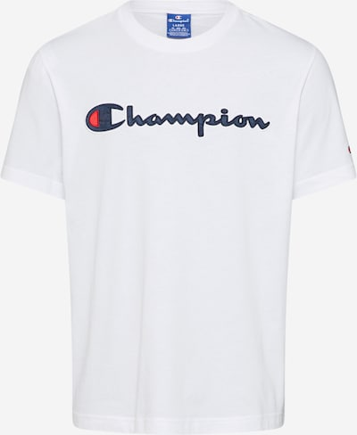 Tricou 'Crewneck T-Shirt' Champion Authentic Athletic Apparel pe alb, Vizualizare produs