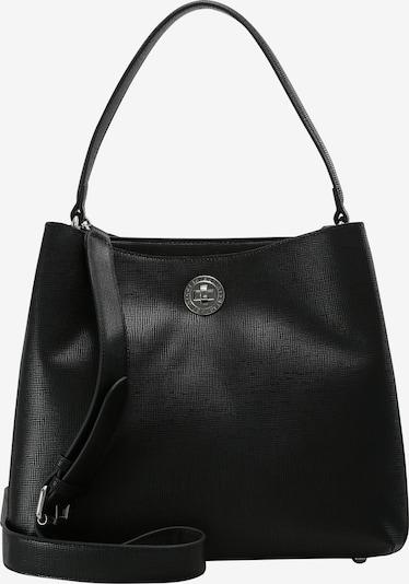 L.CREDI Hobo 'Evita' in schwarz, Produktansicht