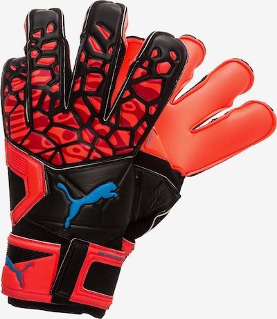 PUMA Sporthandschoenen 'Future Grip 19.2' in de kleur Blauw / Rood / Zwart, Productweergave