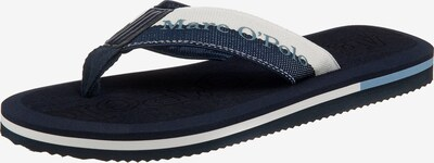 Marc O'Polo Zehentrenner 'Atlantic' in dunkelblau / weiß, Produktansicht