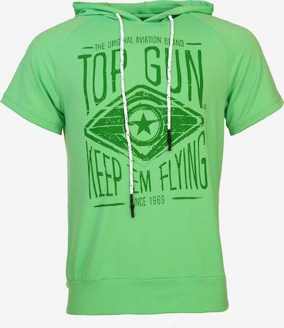 TOP GUN Shirt 'Bright' in de kleur Groen / Neongroen, Productweergave