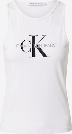 Calvin Klein Jeans Top w kolorze czarny / białym, Podgląd produktu
