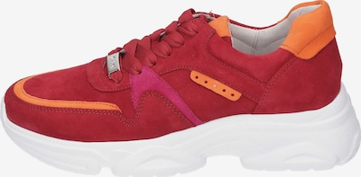 GABOR Sneakers Low in rot, Produktansicht