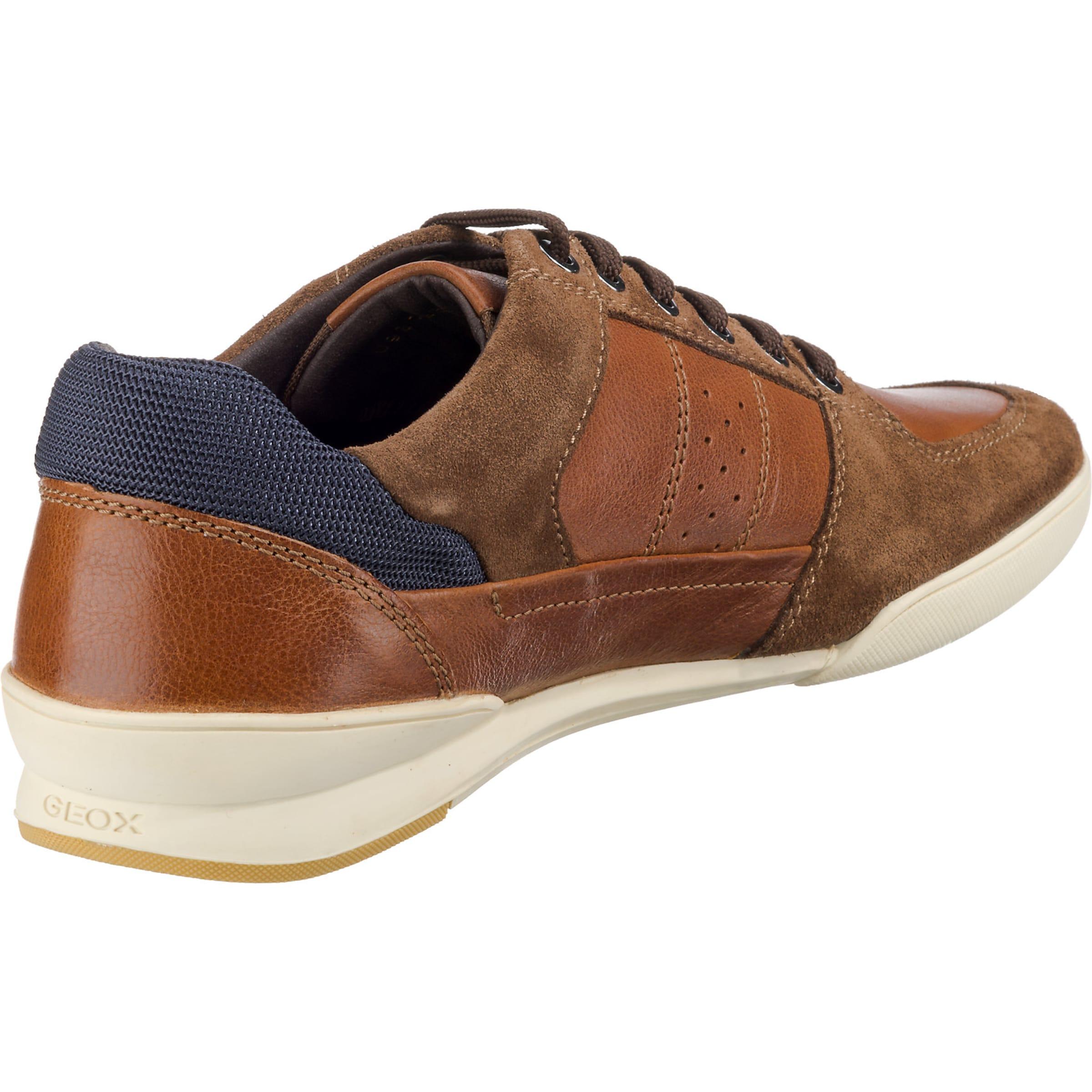 NavyBraun Geox Geox In Sneakers Rostbraun R3ALqj54