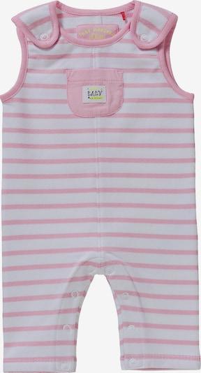 s.Oliver Junior Latzhose in rosa / weiß, Produktansicht